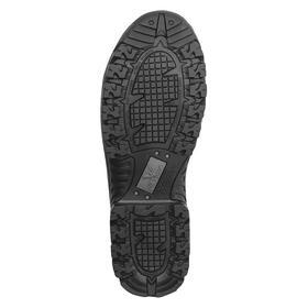 Thorogood Leather Work Boot: Men, Composite, 8 in Shoe Ht, Black, Waterproof, Electrical Hazard Rated, 13 Men's Size, 1 PR