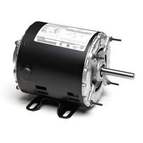 Regal AC Motor: Single Phase, 1/3 hp Output Power, 1725 Nameplate RPM, 48Z NEMA Frame Size, 115V AC, ODP, CCW, Auto Reset