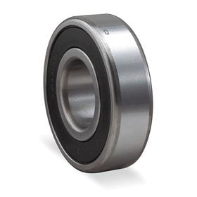 Radial Ball Bearing: Double Sealed, Metric, 52100 Ring Material Grade, Steel, Non-Contact, 6201 LLB Bearing Trade, 32 mm OD
