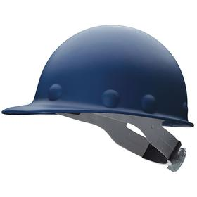 Honeywell Safety Hard Hat: Swing Strap, With Side Slots, ANSI Impact Type Rating I, ANSI Electrical Class Rating C/G, 8-Point, Thermoplastic, Blue