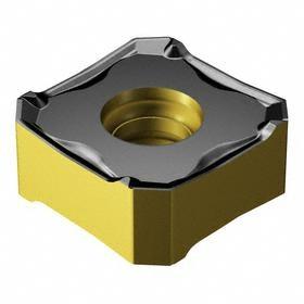Sandvik Coromant Indexable Milling Insert: Cast Iron, CoroMill 345, 13 Seat Size, 13.00 mm Inscribed Circle (Metric), 0.80 mm Corner Radius, 10 PK