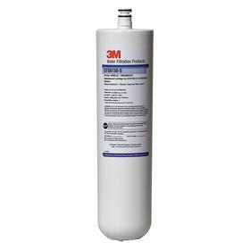 3M Cold Water Filter for Food Service: 5 micron Filter Rating, 1.5 gym Flow Rate, 3 3/16 in Die, 17 in Hot
