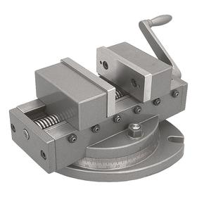 Machine Vise: Swivel, Self Centering, Smooth, 6 in Jaw Opening Capacity, 6 in Jaw Wd, 1 3/4 in Throat Dp, Bolt Mount