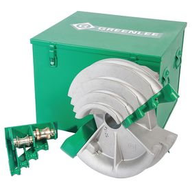 Greenlee Bender Shoe for Electric Benders: For 1/2 to 2 in Pipe Dia, Rigid Shoe, 0.5 in Min Bend Radius