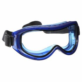 Chemical Splash Protection Safety Goggles: Anti-Fog/Scratch Resistant, Clear, Indirect, Polycarbonate, PVC, Cloth