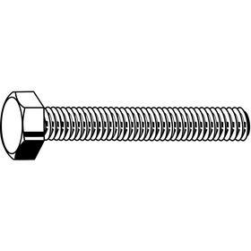 "Cap Head Bolt: Grade 8 Material Grade, Plain, Carbon Steel, 1/4""-20 Thread Size, 2 1/2 in Shank Lg, B18.2.1, Hex, 50 PK"