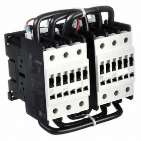 GE IEC Magnetic Contactor: 3 Poles, Single/Three Phase, 48 A Current Rating, 208V AC Control Volt, Reversing