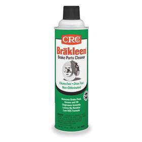CRC Brakleen Solvent-Based Degreaser & Cleaner for Parts Washers: 20 oz Size, Aerosol Can