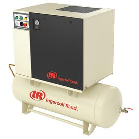 Ingersoll Rand Air Compressor: 7 1/2 hp Horsepower, Continuous, Single Phase, 240 V AC Volt, 80.0 gal Tank Size