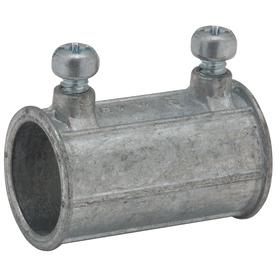 Hubbell Rigid Conduit Set Screw Connector: Connector Fitting Type, Insulated, Male, 1 1/4 in Trade Size, Die Cast Zinc