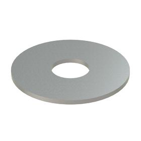 Flat Washer: NL-19, 18-8 Stainless Steel, For 3/8 in Screw Size, 0.407 in ID, 1.25 in OD, 0.050 in Thickness, 10 PK