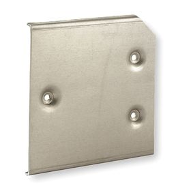 Hubbell Electrical Enclosure Interior Panel: Aluminum, Fits 6 87/100 Enclosure Ht, Fits 6 87/100 Enclosure Wd