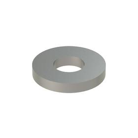 USS Flat Washer: 316 Stainless Steel, For No. 8 Screw Size, 0.188 in ID, 0.437 in OD, 0.050 in Thickness, 25 PK