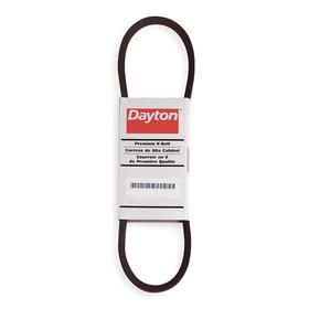 Single V-Belt: Inch, 4L Belt, 4L220 Industry, 22 in Outside Lg, 2 1/2 in Min Pulley Dia, 1/2 in Top Wd