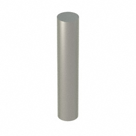 Dowel Pin: 18-8 Stainless Steel, 3/8 in OD, 2 in Overall Lg, 40000 psi Single Shear Strength, 10 PK