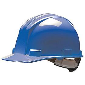 Bullard Hard Hat: Ratchet, With Side Slots, ANSI Impact Type Rating I, ANSI Electrical Class Rating E, 4-Point, Blue
