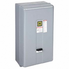 Schneider Electric NEMA Motor Starter: 3 NEMA Size, Indoor, NEMA 1 NEMA Rating, Three Phase, 30 hp - Three Phase @ 240V, 60 Hz