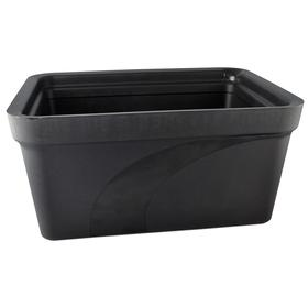 Ice Pan: Rectangular, 9 L Chamber Capacity, 8 in Overall Ht, 12 in Overall Wd, -320° F Min Op Temp, Black