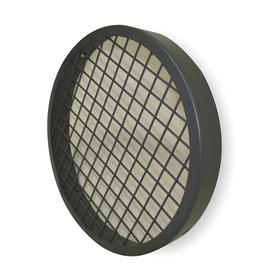 Blower Guard: Round, Steel, 13 1/4 in OD, 1 in Dp, Mounting Hardware