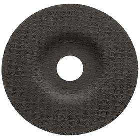 Long Life Grinding Wheel: 4 1/2 in Wheel Dia, 7/8 in Center Hole Dia, 1/8 in Wheel Thickness, Type 27 Type, 30 Grit