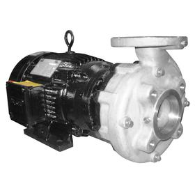 Centrifugal Pump: 3 hp Input Horsepower, Continuous Motor Duty Class, (TEFC) Totally Enclosed Fan Cooled, Flange, Closed