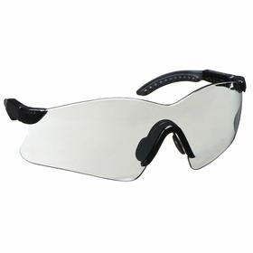 Gateway Safety Safety Glasses: Gray Mirror, Frameless Frame, Scratch Resistant, Black, Nylon, Adj Temples, Unisex