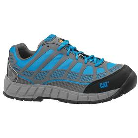 Caterpillar Dress-Casual Work Shoe: Women, Composite, Athletic Spacer Mesh, Blue, Slip Resistant, Electrical Hazard Rated, Lace Up, 1 PR