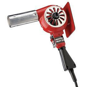 Master Appliance Corded Heat Gun: 120V AC, Variable Temp Setting, Nozzles Included, 12 A Current, 300° F Min Temp