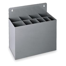 Key Stock Rack: 10 Compartments, 9 1/8 in Compartment Ht, 3 in Compartment Wd, 3 in Compartment Dp, 12 in Overall Ht