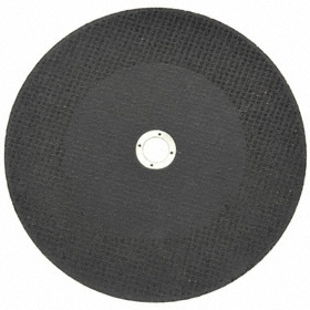 Norton General Purpose Cut-Off Wheel: Type 1 Type, 3 in Wheel Dia, 1/4 in Center Hole Dia, 0.125 in Wheel Thickness