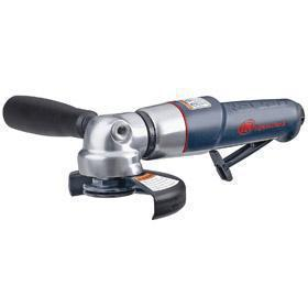 Ingersoll Rand Easy to Handle Air-Powered Angle Grinder: For 4 1/2 in Max Wheel Dia, Single Speed, 0.9 hp Horsepower