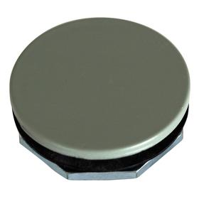 Eaton Push Button Blanking Plug: Plastic, 30 mm Compatible Panel Cutout Dia, Gray, Industrial Heavy Duty, IP65 IP Rating
