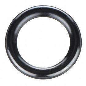 General Purpose Oil-Resistant Buna-N O-Ring: 325 AS568 Dash, Round, Black, 0.210 in Actual Wd, 3/16 in Nominal Wd, 50 PK