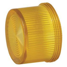 Siemens Pilot Light Lens: Amber, For Siemens 30mm Pilot Lights, 18 Haz Material Indicator, Fresnel