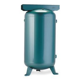 Air Tanks: Vertical Cylinder, Steel, ASME, Black, 60 gal Tank Capacity, 20.00 in OD, 54.00 in Overall Ht