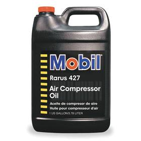Mobil Air Compressor Oil: 100 ISO Grade, Mineral Oil, 30 SAE Grade, 1 gal Container Size, 11.6 cSt Viscosity @ 100° C