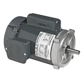 Jet Pump Motor: 56C NEMA Frame Size, 3/4 hp Output Power, 3450 RPM Nameplate RPM, 115V AC/230V AC, Single Phase, CW/CCW