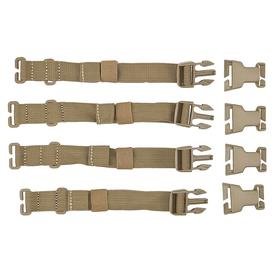 Bag Strap: Sandstone, 1 in Wd, High Impact Buckle Hardware/Modular Storage Enhancement System/Quick Connect & Disconnect