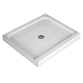 American Standard Shower Base: Center, 32 In Lg, 36 In Wd, 4