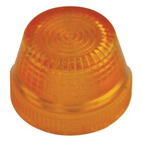 Eaton Pilot Light Lens: 2.93 in Overall Lg, Designed for Most Rugged Industrial Applications, Yellow, Repl Lens