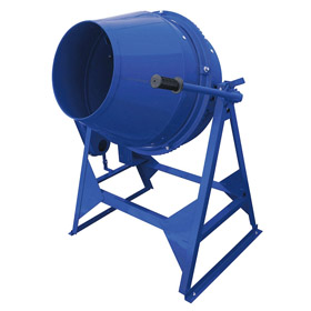 Marshalltown Corded Pedestal & Wheelbarrow Mixer for Cement