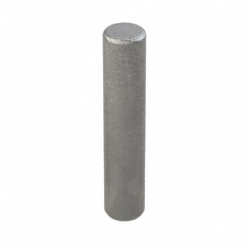 Dowel Pin: Steel, Plain, 2 mm OD, 10 mm Overall Lg, 742 lb Single Shear Strength, 100 PK