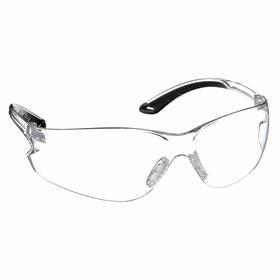 Pyramex Safety Glasses: Clear, Frameless Frame, Anti-Fog/Scratch Resistant, ANSI Z87.1-2003_CAN/CSA Z94.3-07_CE EN166