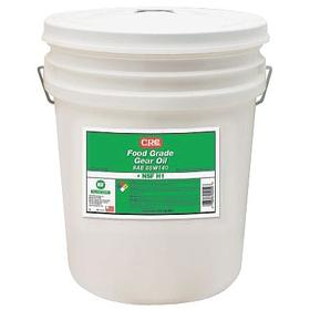 CRC Gear Oil: Mineral Oil, 460 ISO Grade, 140 SAE Grade, 31.5 cSt Viscosity @ 100° C, 5 gal Container Size, Bucket