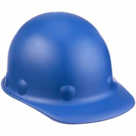 Honeywell Safety Hard Hat: Swing Strap, With Side Slots, ANSI Impact Type Rating I, ANSI Electrical Class Rating C/G, 8-Point, Blue