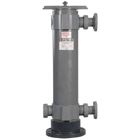 Bag Filter Housing: 100 gpm Flow Rate, 2 Filter Bag Size, 150 psi Max Pressure, 2 in Connection Size, 15 in Dia, 42 5/8 in Ht