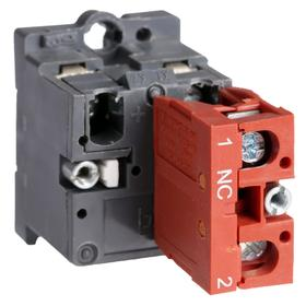 Lamp Module & Contact Block: For Plastic Operators, 1.57 in Overall Lg, White, Includes Bulb, 2.81 in Overall Ht, 1.81 in Overall Wd, LED