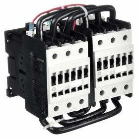 GE IEC Magnetic Contactor: 3 Poles, Single/Three Phase, 68 A Current Rating, 240V AC Control Volt, Reversing