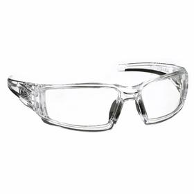 Honeywell Safety Glasses: Clear, Wraparound Frame, Anti-Fog, ANSI Z87.1-2010, Nylon