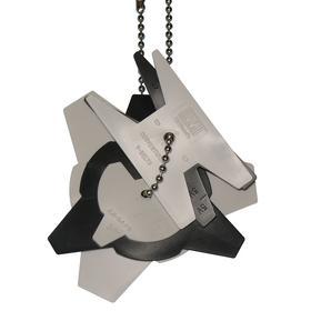 Groove Gauge: For Sheaves/V-Belts, For 3V/5V/8V/A/B/C/D, 1.25 in Max Belt Wd, Plastic, Black/Gray